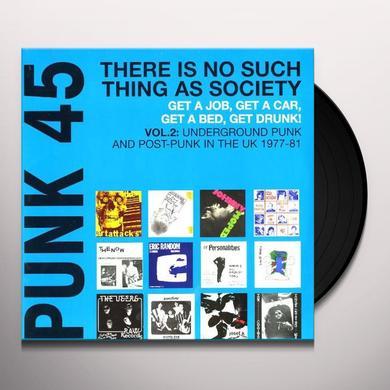 PUNK 45: 2 UNDERGROUND PUNK IN UK 1977-1981 / VAR Vinyl Record