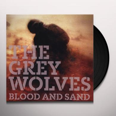 Grey Wolves BLOOD & SAND Vinyl Record - w/CD