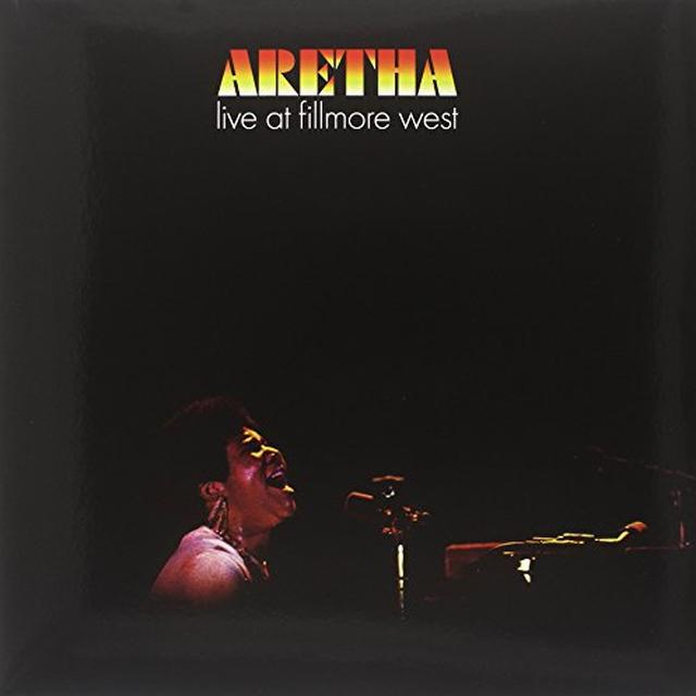 Aretha Franklin LIVE AT FILLMORE WEST Vinyl Record