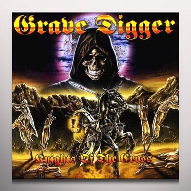 Grave Digger KNIGHTS OF THE CROSS Vinyl Record - Clear Vinyl, Limited Edition, 180 Gram Pressing