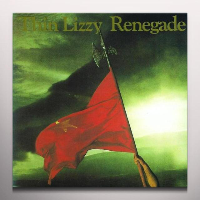 Thin Lizzy RENEGADE Vinyl Record - Colored Vinyl, Limited Edition, 180 Gram Pressing