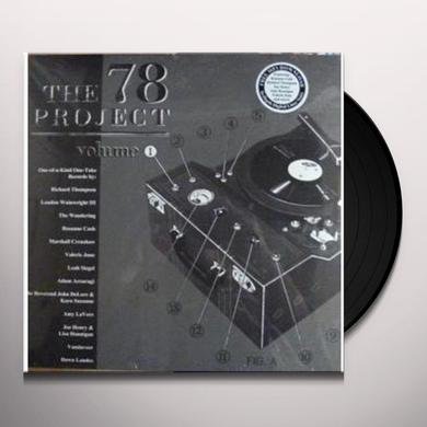 78 Project: 1 / Various (Dlcd) 78 PROJECT: 1 / VARIOUS Vinyl Record