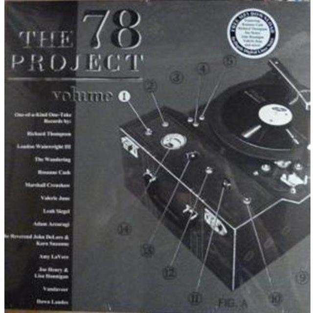 78 Project: 1 / Various (Dlcd) 78 PROJECT: 1 / VARIOUS Vinyl Record - Digital Download Included