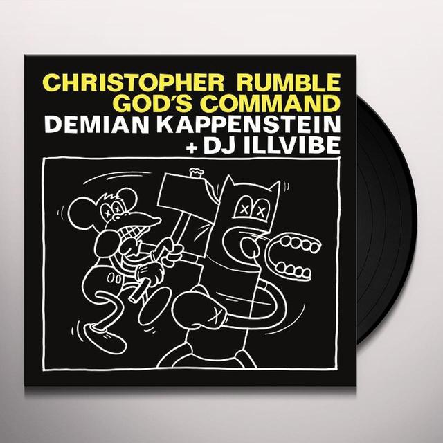 Kappenstein / Ilvibe CHRISTOPHER RUMBLE GODS COMMAND Vinyl Record
