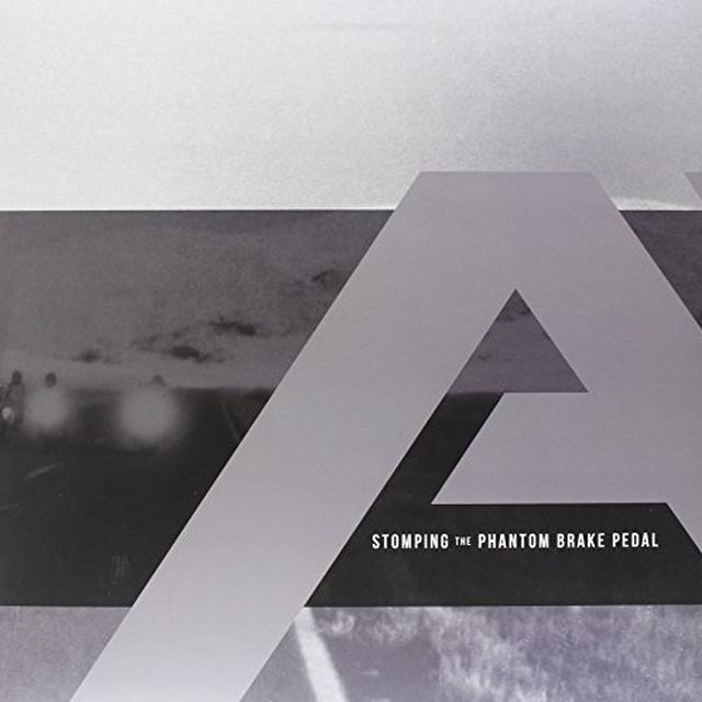 Angels & Airwaves STOMPING THE PHANTOM BRAKE PEDAL Vinyl Record - Clear Vinyl, Limited Edition