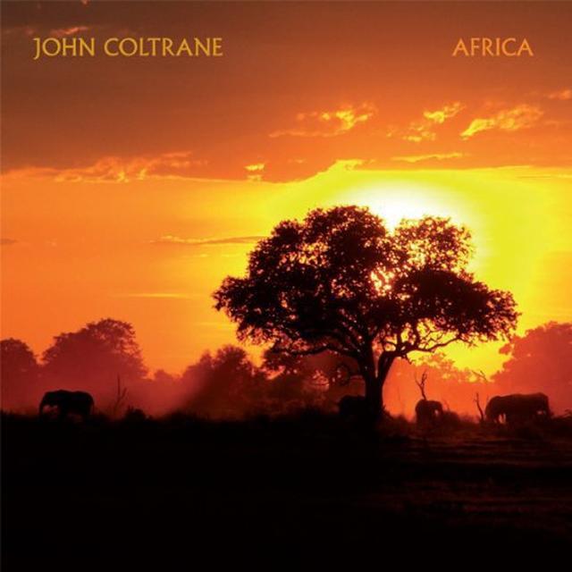 John Coltrane AFRICA Vinyl Record - Limited Edition