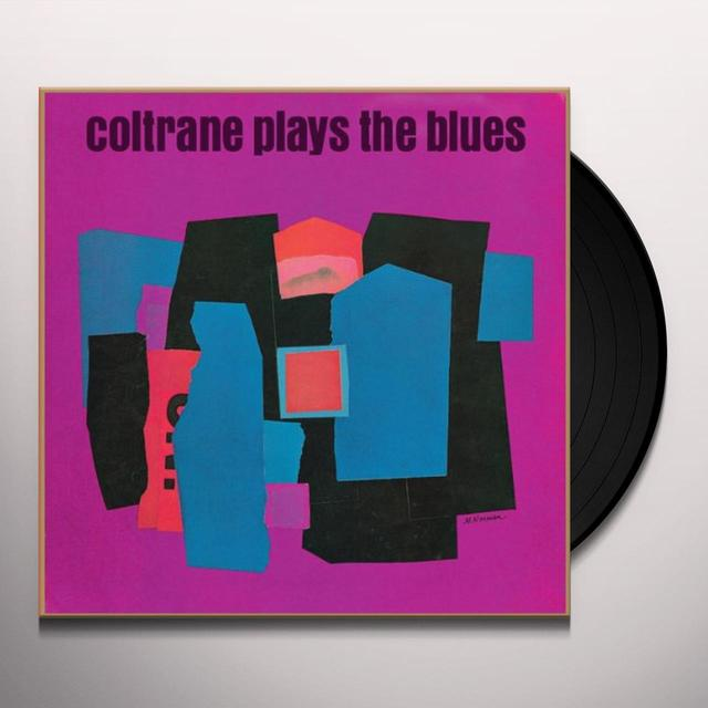 John Coltrane COLTRANE PLAYS THE BLUES Vinyl Record - Limited Edition