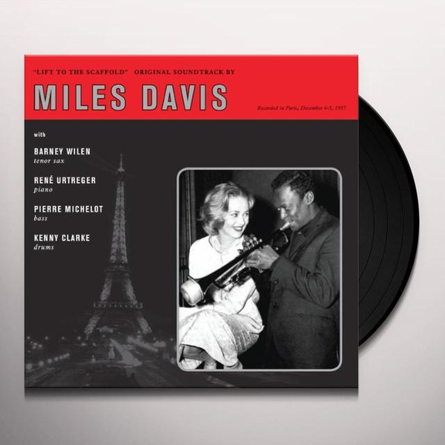 Miles (Ltd) Davis LIFT TO THE SCAFFOLD (O.S.T.) Vinyl Record - Limited Edition
