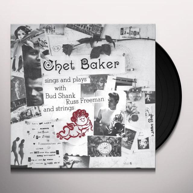 Chet Baker SINGS & PLAYS Vinyl Record - Limited Edition