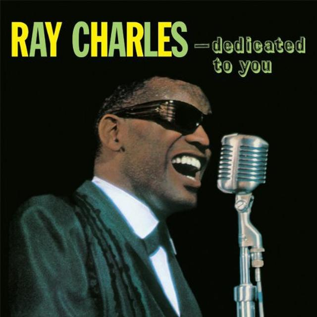 Ray Charles DEDICATED TO YOU Vinyl Record - Limited Edition