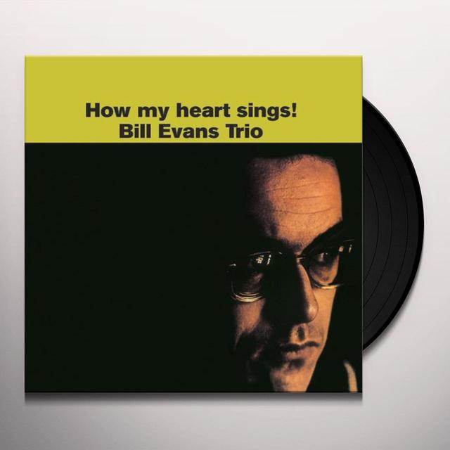 Bill Evans Trio HOW MY HEART SINGS Vinyl Record - Limited Edition