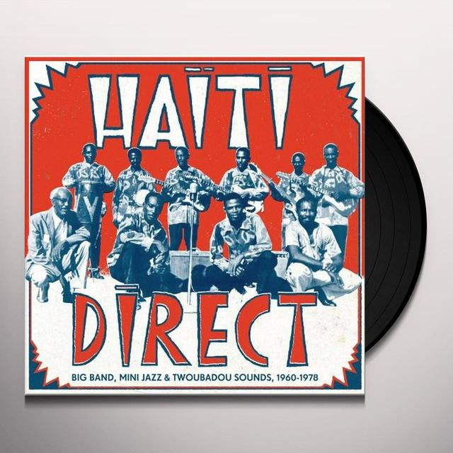 HAITI DIRECT / VARIOUS (W/CD) HAITI DIRECT / VARIOUS Vinyl Record - w/CD