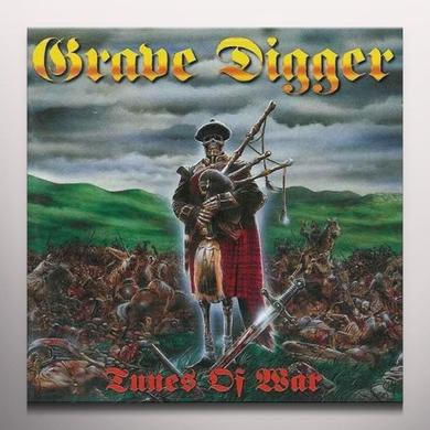 Grave Digger TUNES OF WAR Vinyl Record - Colored Vinyl, Limited Edition, 180 Gram Pressing