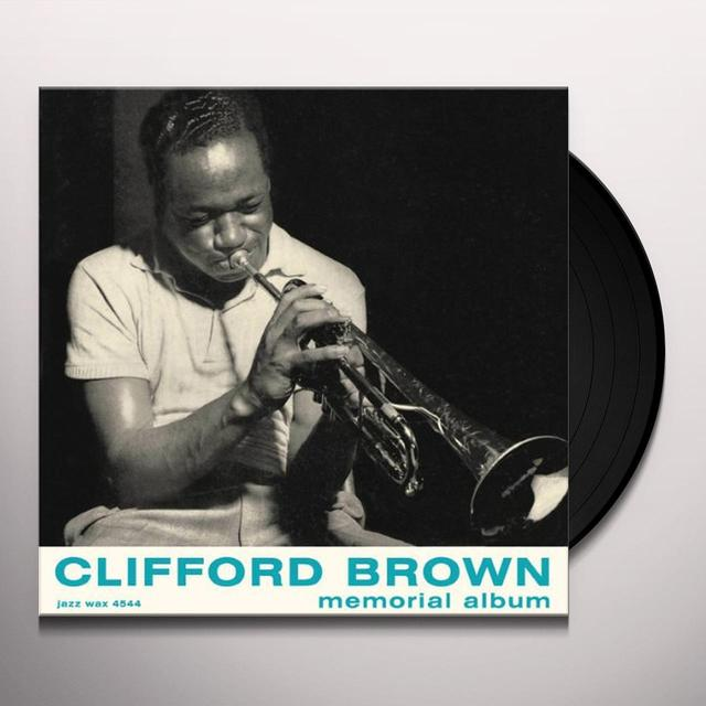 Clifford Brown MEMORIAL ALBUM Vinyl Record - Spain Import