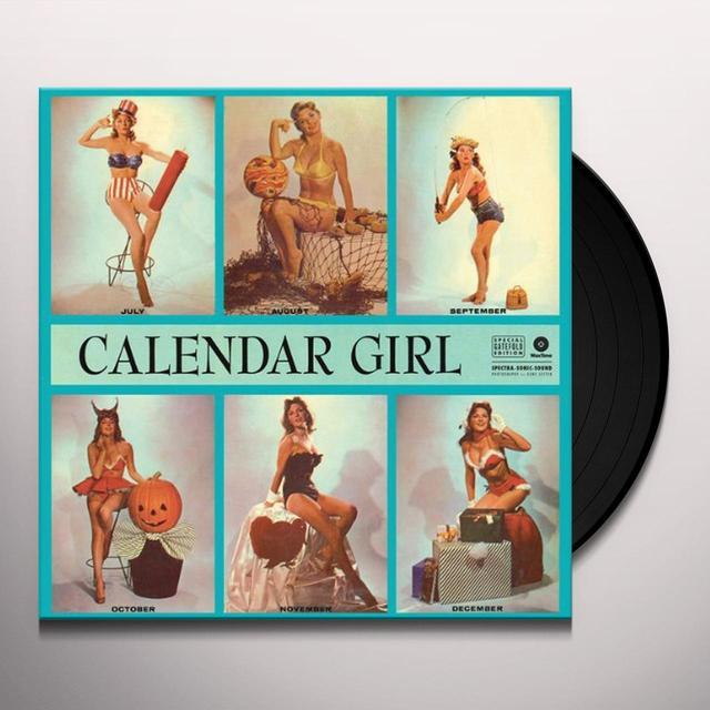 Julie London CALENDAR GIRL Vinyl Record - Spain Import