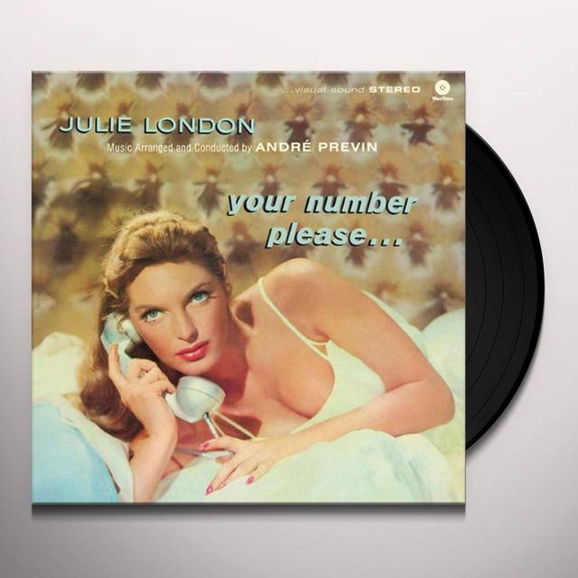 Julie London YOUR NUMBER PLEASE Vinyl Record