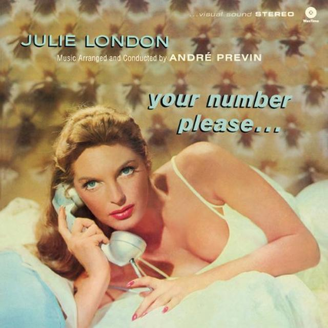 Julie London YOUR NUMBER PLEASE Vinyl Record - Spain Import