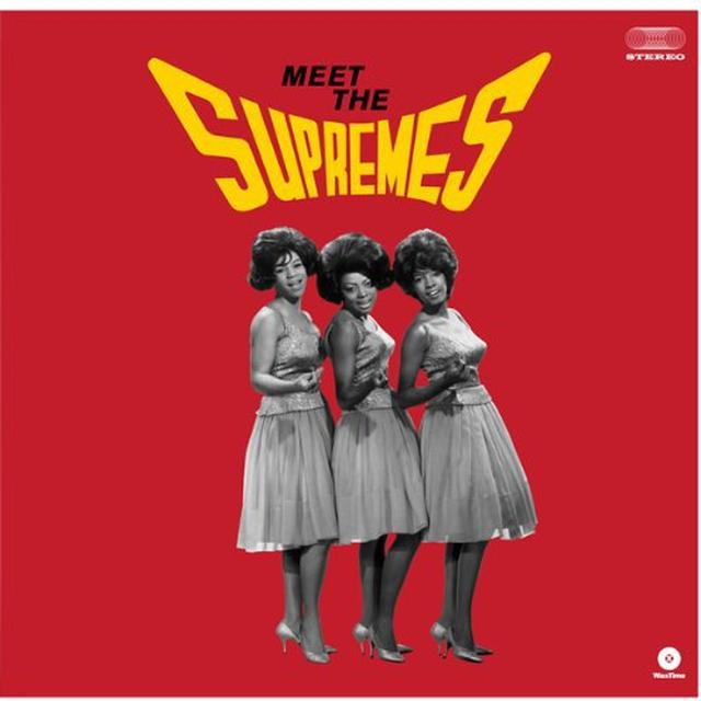 MEET THE SUPREMES Vinyl Record - Spain Import