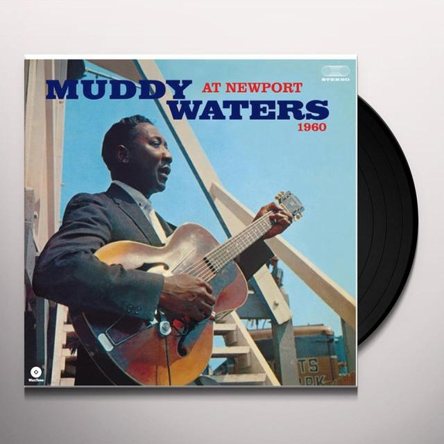 Muddy Waters AT NEWPORT 1960 Vinyl Record - Spain Import