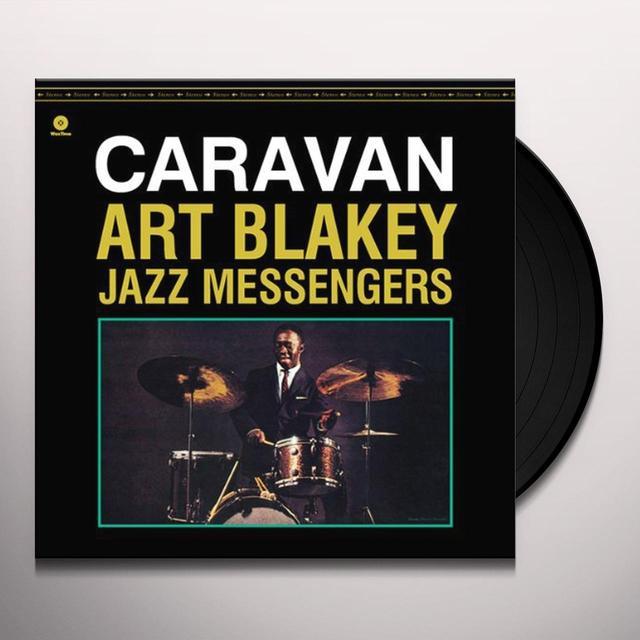 Art Blakey & The Jazz Messengers CARAVAN Vinyl Record - Spain Import