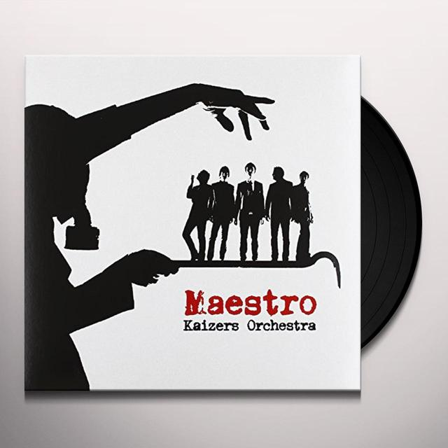 Kaizers Orchestra MAESTRO Vinyl Record - Holland Import