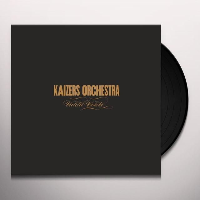 Kaizers Orchestra VIOLETA VIOLETA Vinyl Record - Holland Release