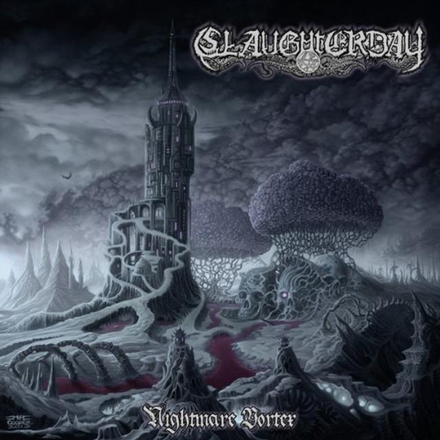 Slaughterday NIGHTMARE VORTEX (GER) Vinyl Record
