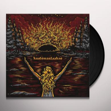 Kuolemanlaakso MUSTA AURINKO NOUSEE EP (GER) Vinyl Record