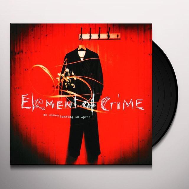Element Of Crime AN EINEM SONNTAG IM APRIL Vinyl Record
