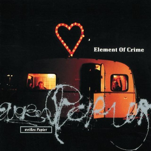 Element Of Crime WEISSES PAPIER (GER) Vinyl Record