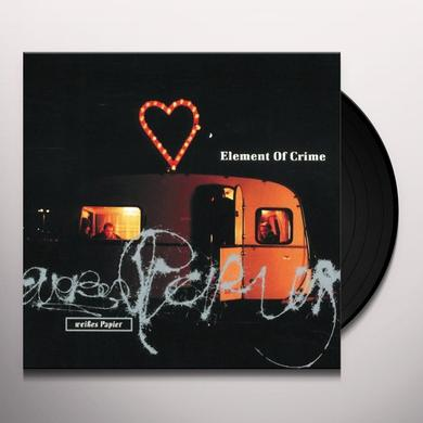 Element Of Crime WEISSES PAPIER (GER) Vinyl Record