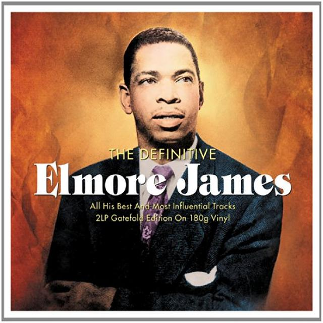Elmore James DEFINITIVE Vinyl Record - UK Import