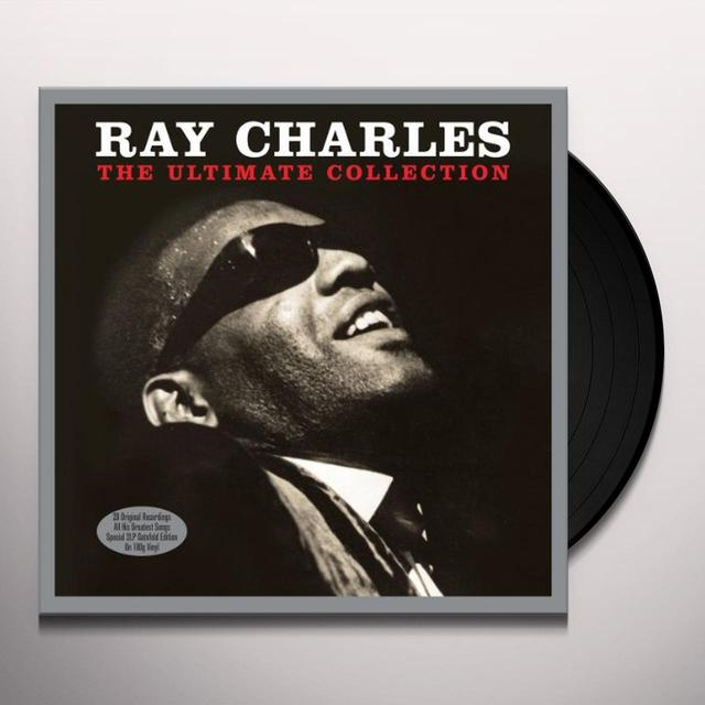 Ray Charles ULTIMATE COLLECTION Vinyl Record - UK Import