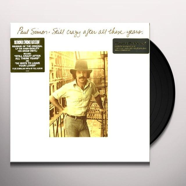 Paul Simon STILL CRAZY AFTER ALL THESE YEARS Vinyl Record - Holland Import