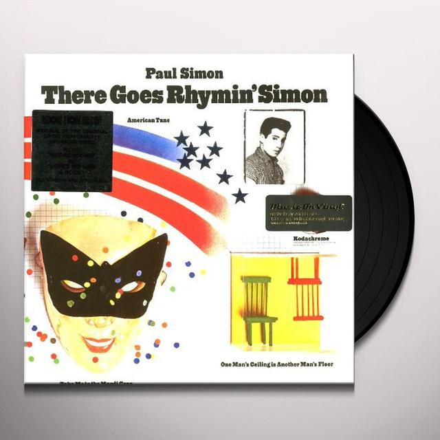 Paul Simon THERE GOES RHYMIN' SIMON Vinyl Record - Holland Import