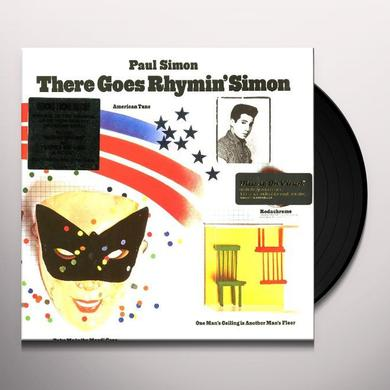 Paul Simon THERE GOES RHYMIN' SIMON Vinyl Record