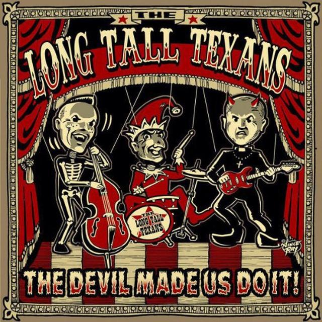 Long Tall Texans DEVIL MADE US DO IT (PIC DISC) Vinyl Record - UK Release