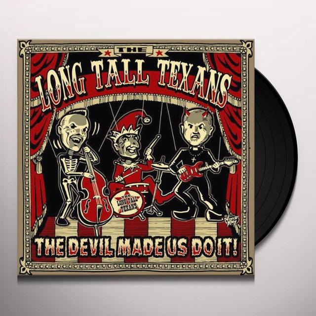 Long Tall Texans DEVIL MADE US DO IT (PIC DISC) Vinyl Record - UK Import