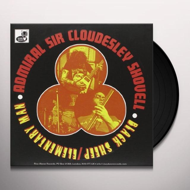 The Admiral Sir Cloudesley Shovell BLACK SHEEP Vinyl Record - UK Release