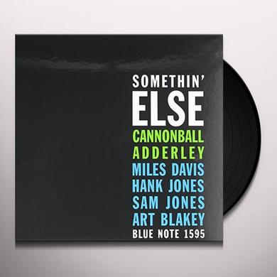 Cannonball Adderley SOMETHIN ELSE Vinyl Record - 180 Gram Pressing
