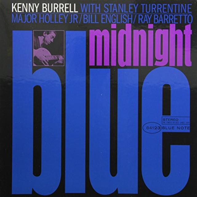 Kanny Burrell MIDNIGHT BLUE Vinyl Record - 180 Gram Pressing