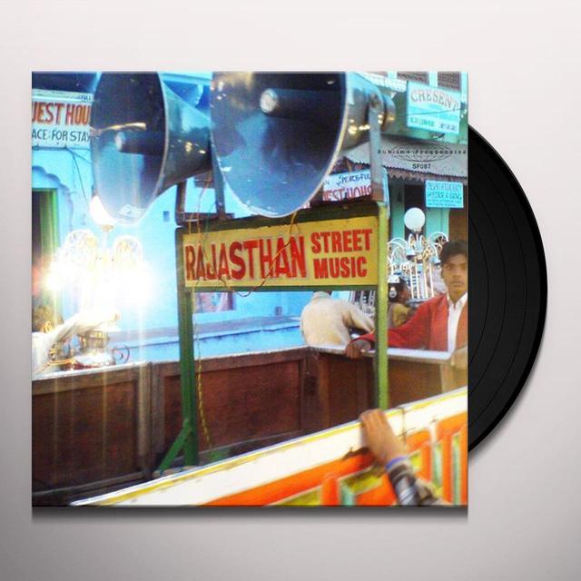 RAJASTHAN STREET MUSIC / VARIOUS Vinyl Record