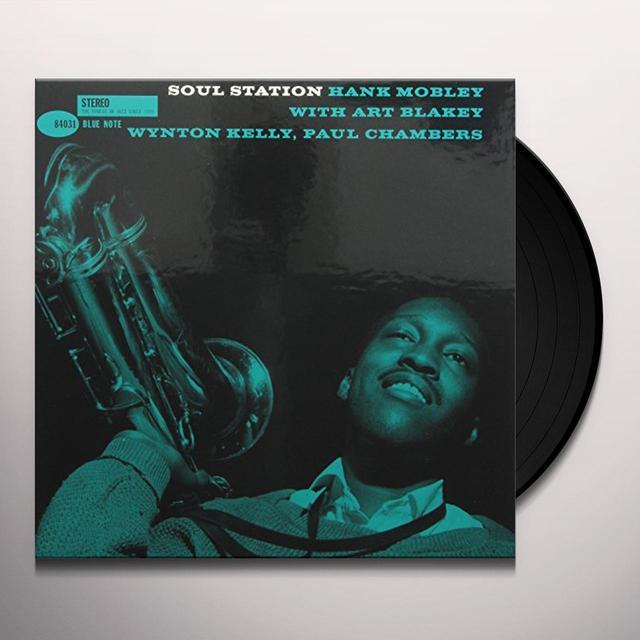 Hank Mobley SOUL STATION Vinyl Record - 180 Gram Pressing