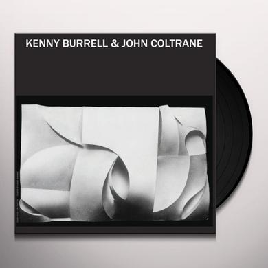 KENNY BURRELL & JOHN COLTRANE Vinyl Record - Limited Edition
