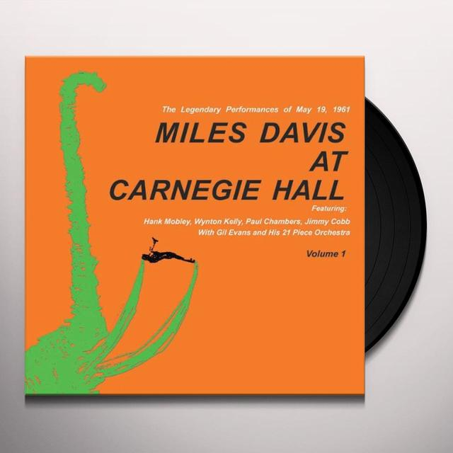 MILES DAVIS AT CARNEGIE HALL 1 Vinyl Record - Limited Edition