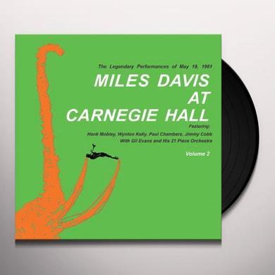 MILES DAVIS AT CARNEGIE HALL 2 Vinyl Record