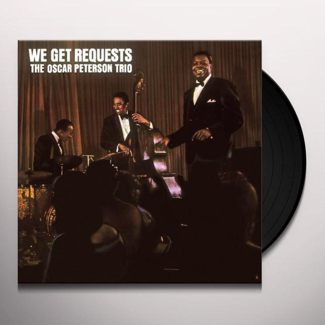 Oscar Peterson WE GET REQUESTS Vinyl Record - Limited Edition