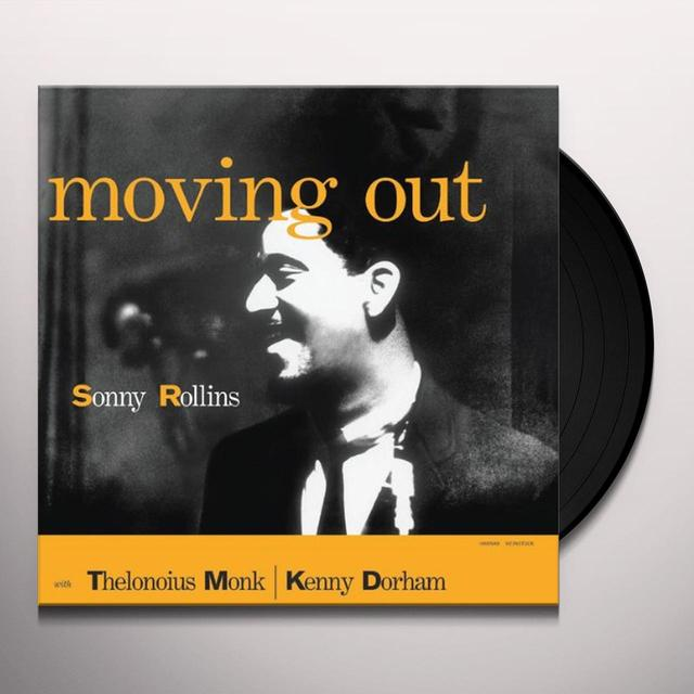 Sonny Rollins MOVING OUT Vinyl Record - Limited Edition