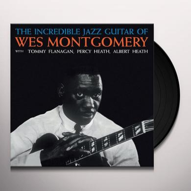 INCREDIBLE JAZZ GUITAR OF WES MONTGOMERY Vinyl Record