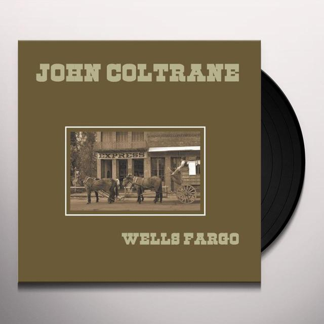 John Coltrane WELLS FARGO Vinyl Record - Limited Edition